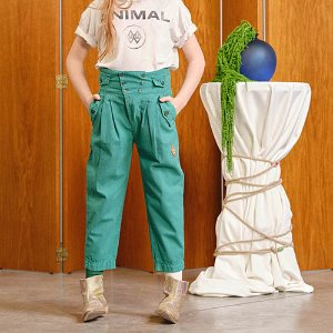 Camel Trousers 1360_206 (green logo)