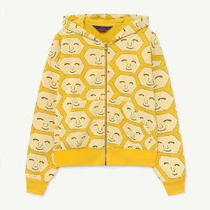 Seahorse Zip Sweat 1299_203 (yellow face)