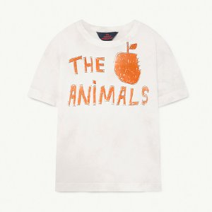 Rooster Tshirt 1286_108 (white the animals)
