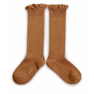 Lace High Socks #779 Salted Caramel