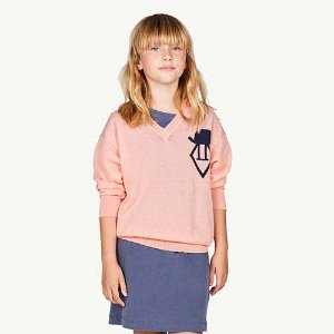 Logo Toucan Cardigan 1017_046 (soft pink)