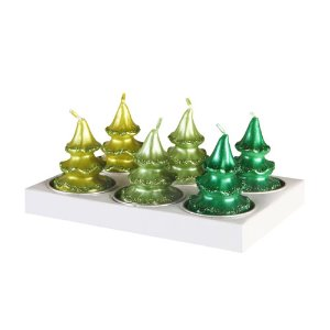 Candle Pine Tree (pack of 6)