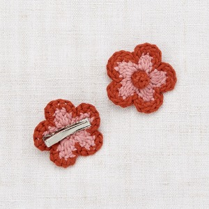 Medium Flower Clip (rose blush)