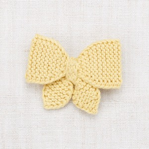 Medium Puff Bow (straw)