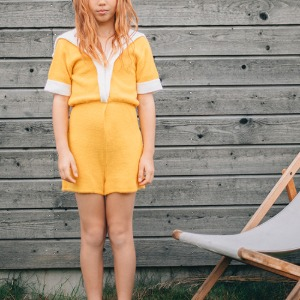 Sailor Playsuit Yellow