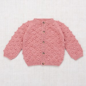Summer Popcorn Cardigan (rose blush)