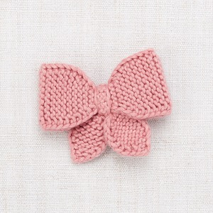 Medium Puff Bow (rose blush)