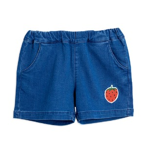 Strawberry Denim Short