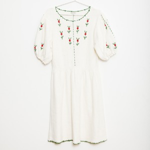Flower Knitted Women Dress