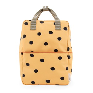 Backpack Freckles Large Retro Yellow