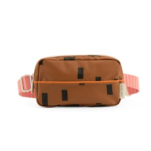 [프리오더]Fanny Bag Sprinkle Syrup Brown