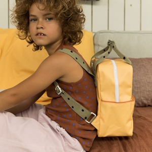 Backpack Freckles Small Retro Yellow