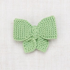 Medium Puff Bow (peapod)
