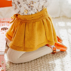 Roseleigh Bloomer Skirt (mustard)