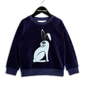 (80/86)Rabbit Sweatshirt (blue)