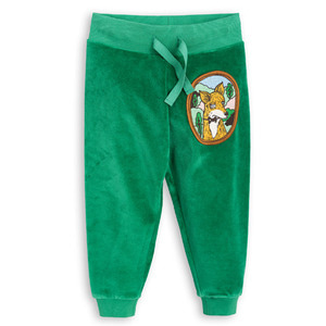 Fox Velour Sweatpant (green)