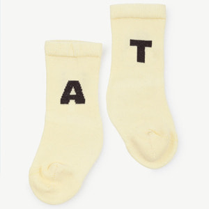 Worm Baby Socks (yellow)