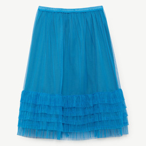 [3,4,6y]Rabbit Skirt (electric blue)
